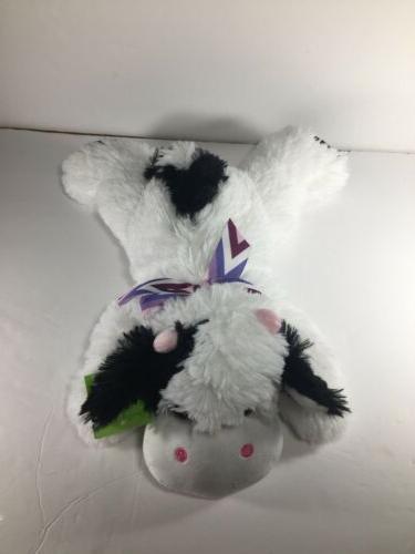 "Cow Plush 14"" Stuffed Animal"