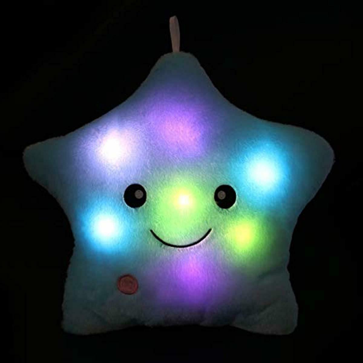 WEWILL Night Light Shape Pillow