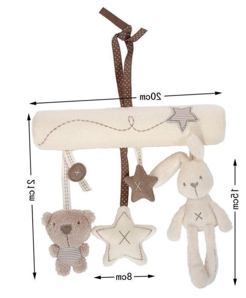 Creative Infants Cradle <font><b>Cute</b></font> Rabbit baby bed safety seat plush Plush Toys