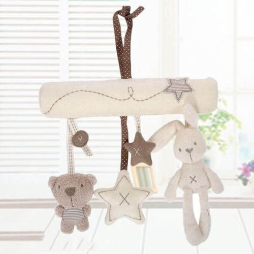 Creative <font><b>Cute</b></font> bed safety toy Hand Bell Plush