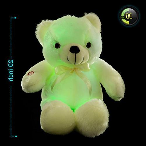 WEWILL LED Stuffed Kids, 20-