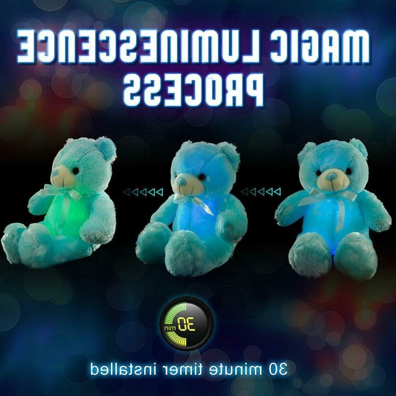 Wewill Creative Up Led Bear Stuffed Colo