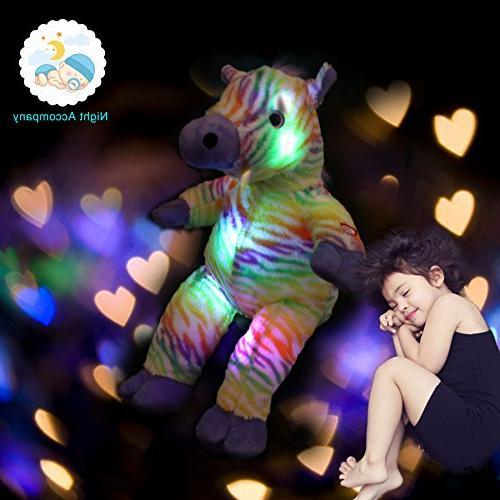 LED Colorful Lifelike Plush Gift