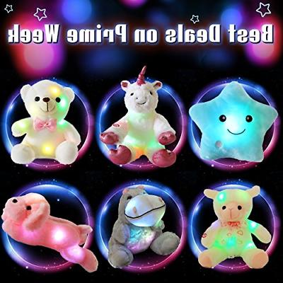 WEWILL LED Animals Lovely Dog Plush