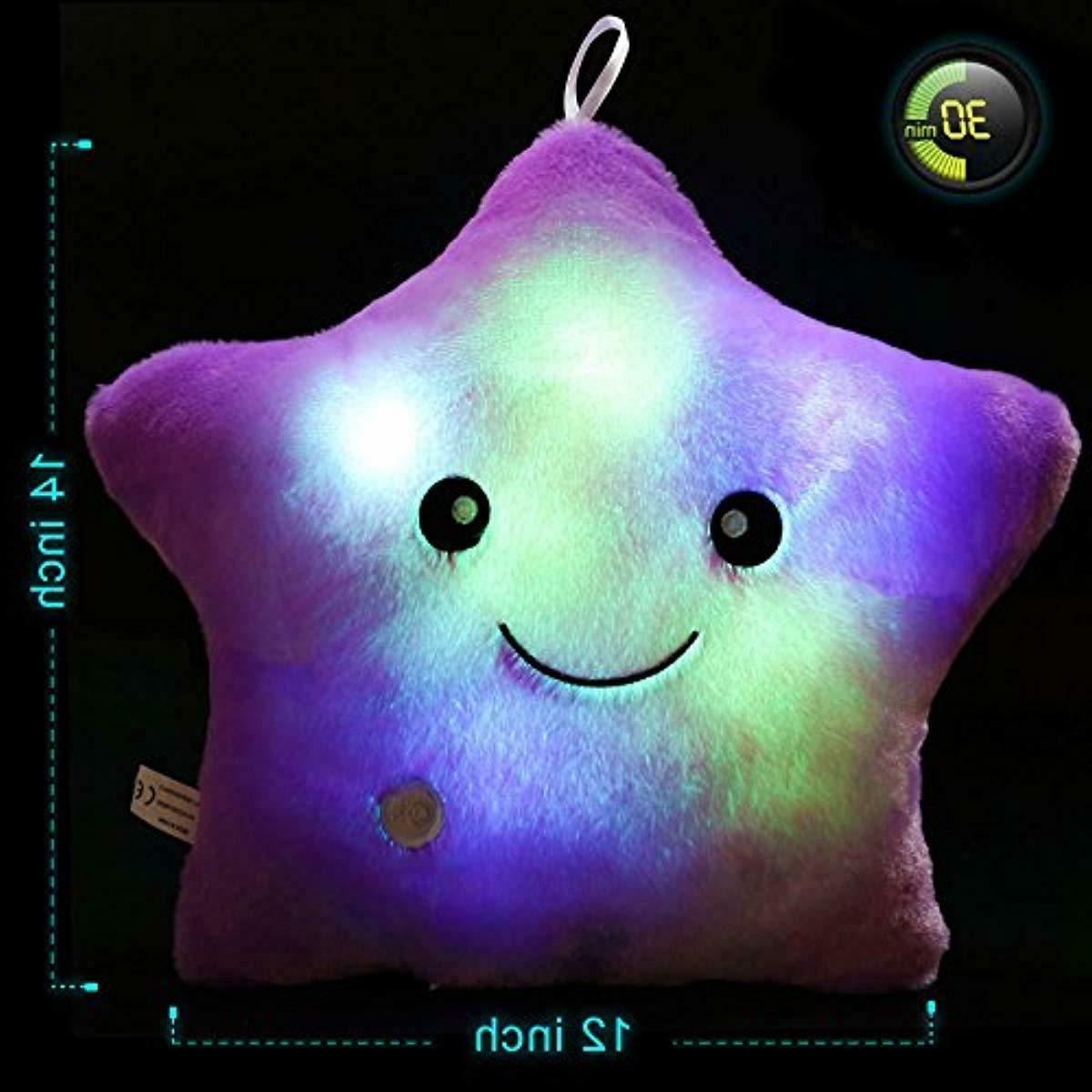 WEWILL Glowing LED Night Plush Stuffed