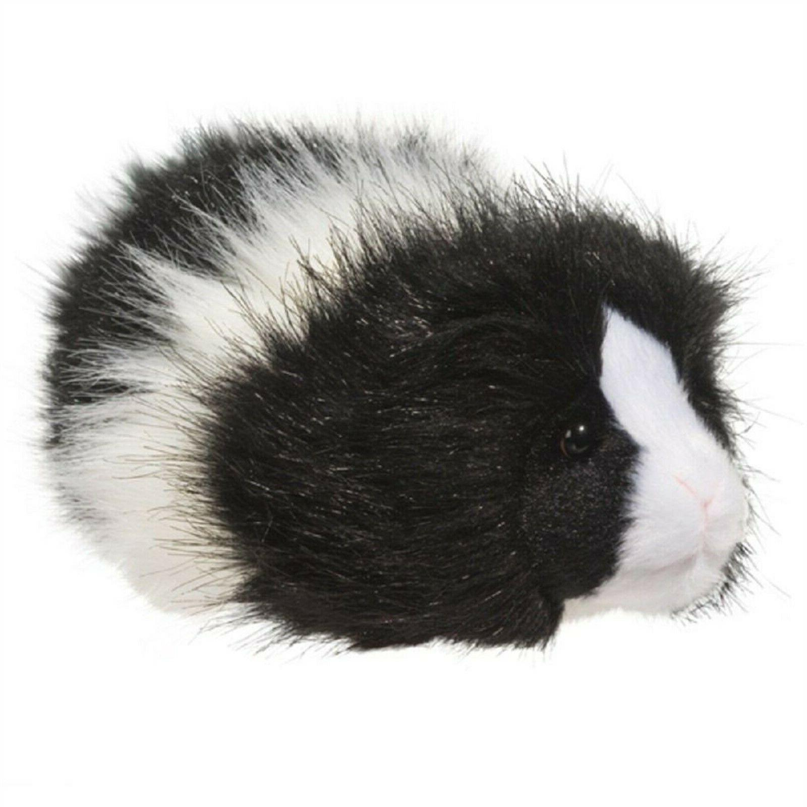 cuddle toys angora black white