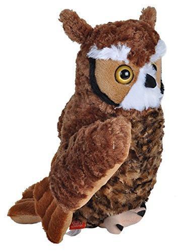 Wild Republic Owl Plush, Cuddlekins
