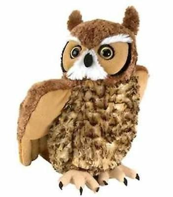 cuddlekin great horned owl plush