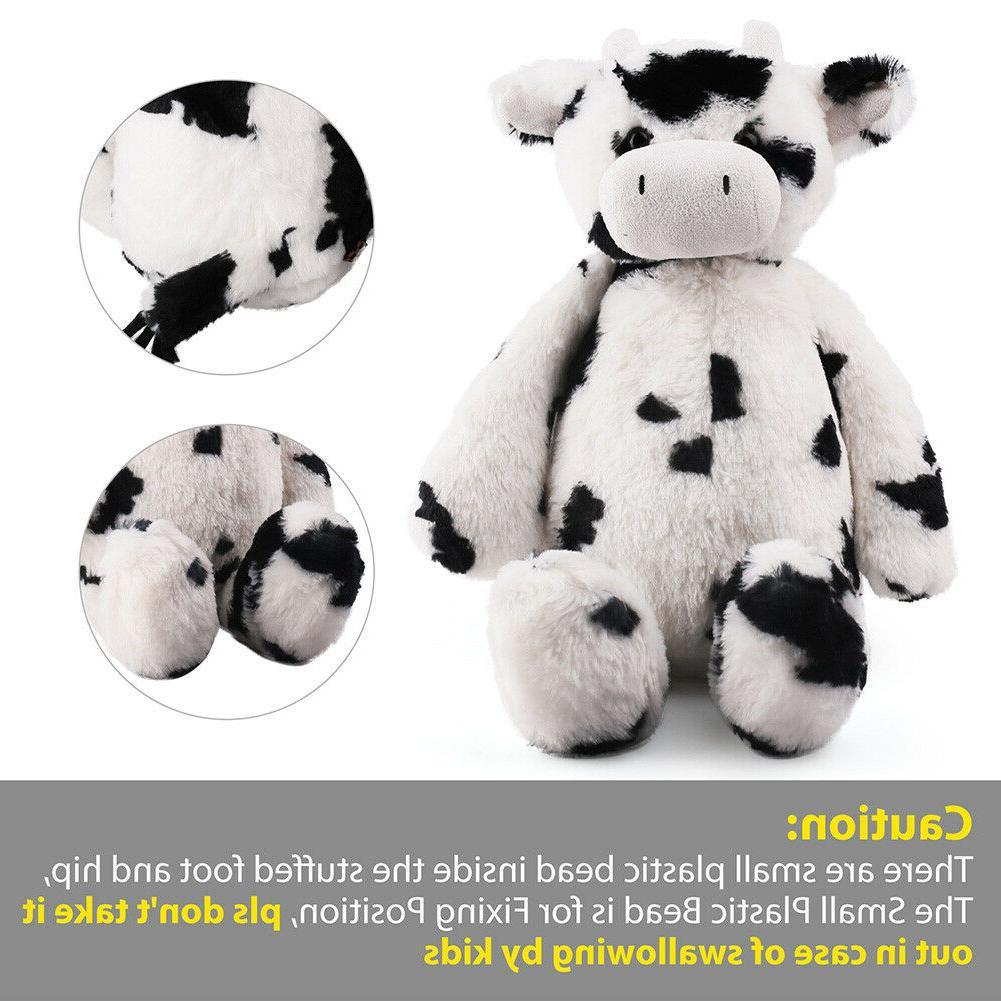 """16.5"""" CREAM stuffed animals farm For Boys Girls Toy"""