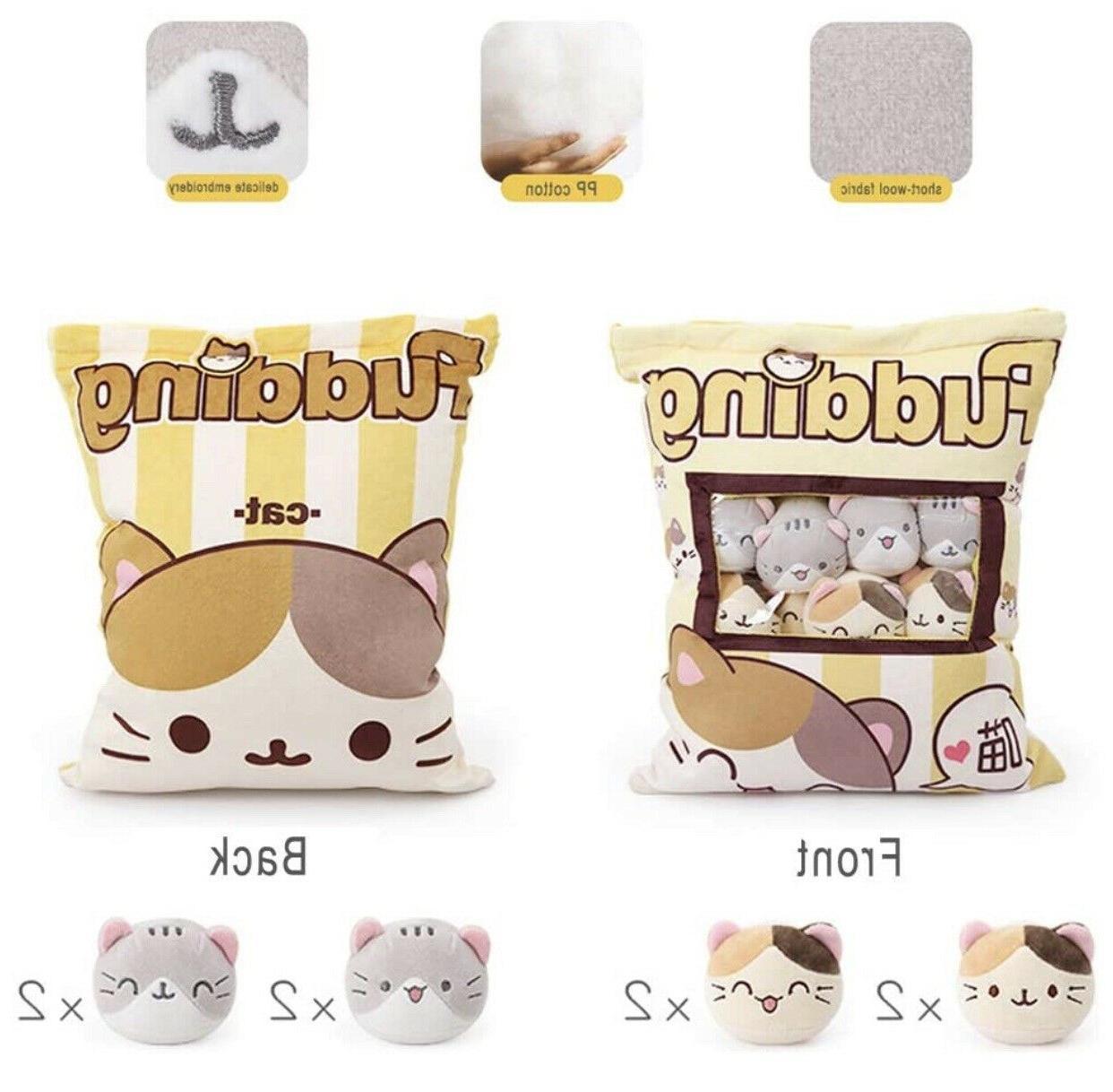Cute Fluffy Pillow Bag of