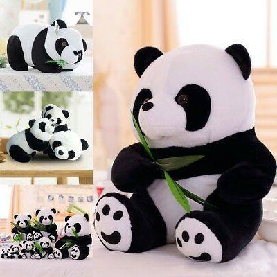 cute standing panda bear stuffed animal plush
