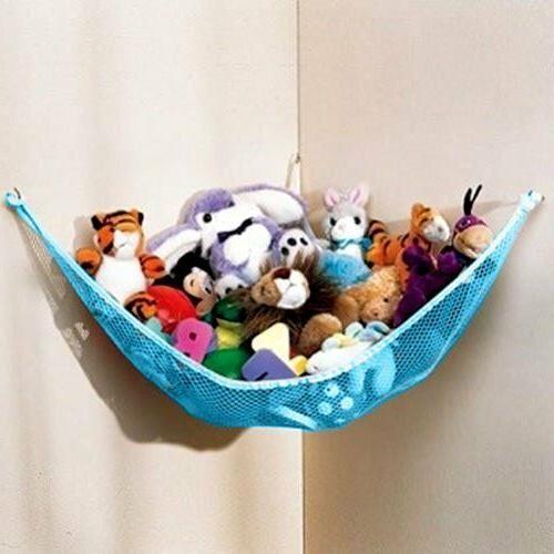 NEW DOZENEGG Deluxe Pet Net - Stuffed Animal & Toy Organizer