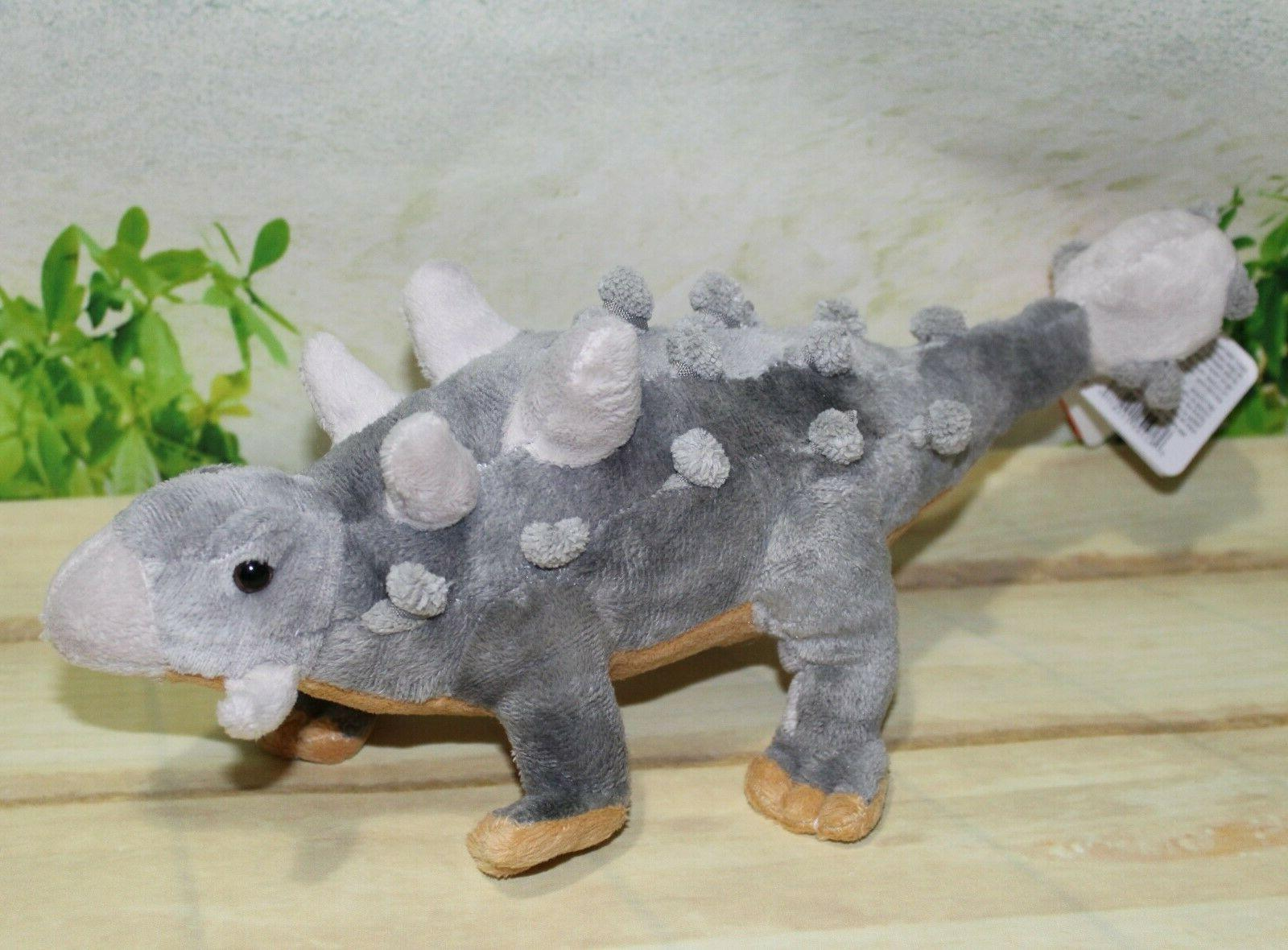 dinosauria mini ankylosaur plush