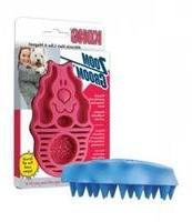 Kong Company DKO51111 Zoom Groom Firm Rubber Dog Brush Boyse
