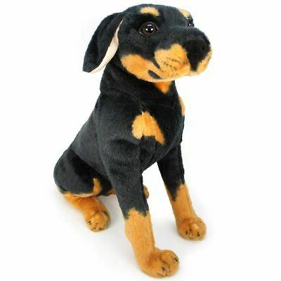 dog stuffed animal plush rodolf