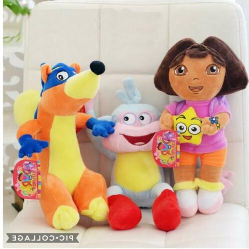 Dora The Explorer Plush Stuffed Doll Animal Figures Characte