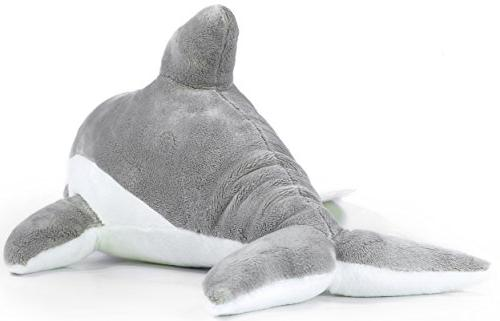 VIAHART Dolphin | 11 Inch Dolphin Stuffed Animal by Tale Toys