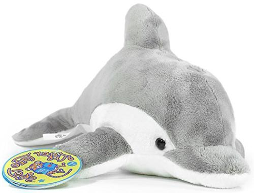VIAHART The | Inch Dolphin Stuffed Animal Plush by Tale
