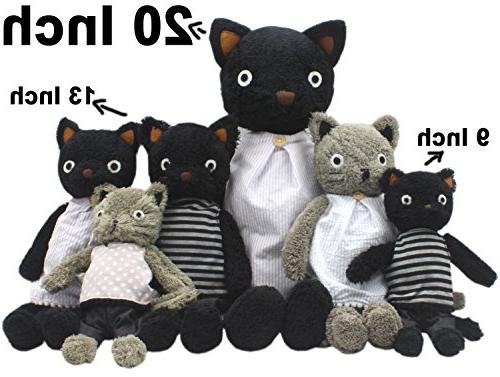 JIARU Animals Grey Toys Dolls