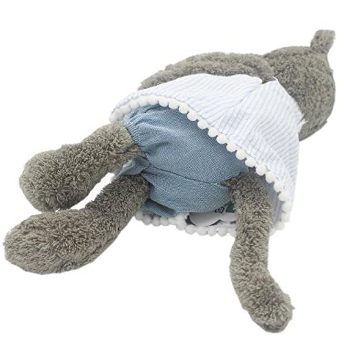 JIARU Grey Plush Toys Dolls 9 Inches
