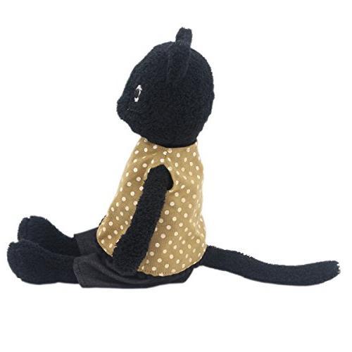 JIARU Dressed Stuffed Plush Toys Black Dolls 9