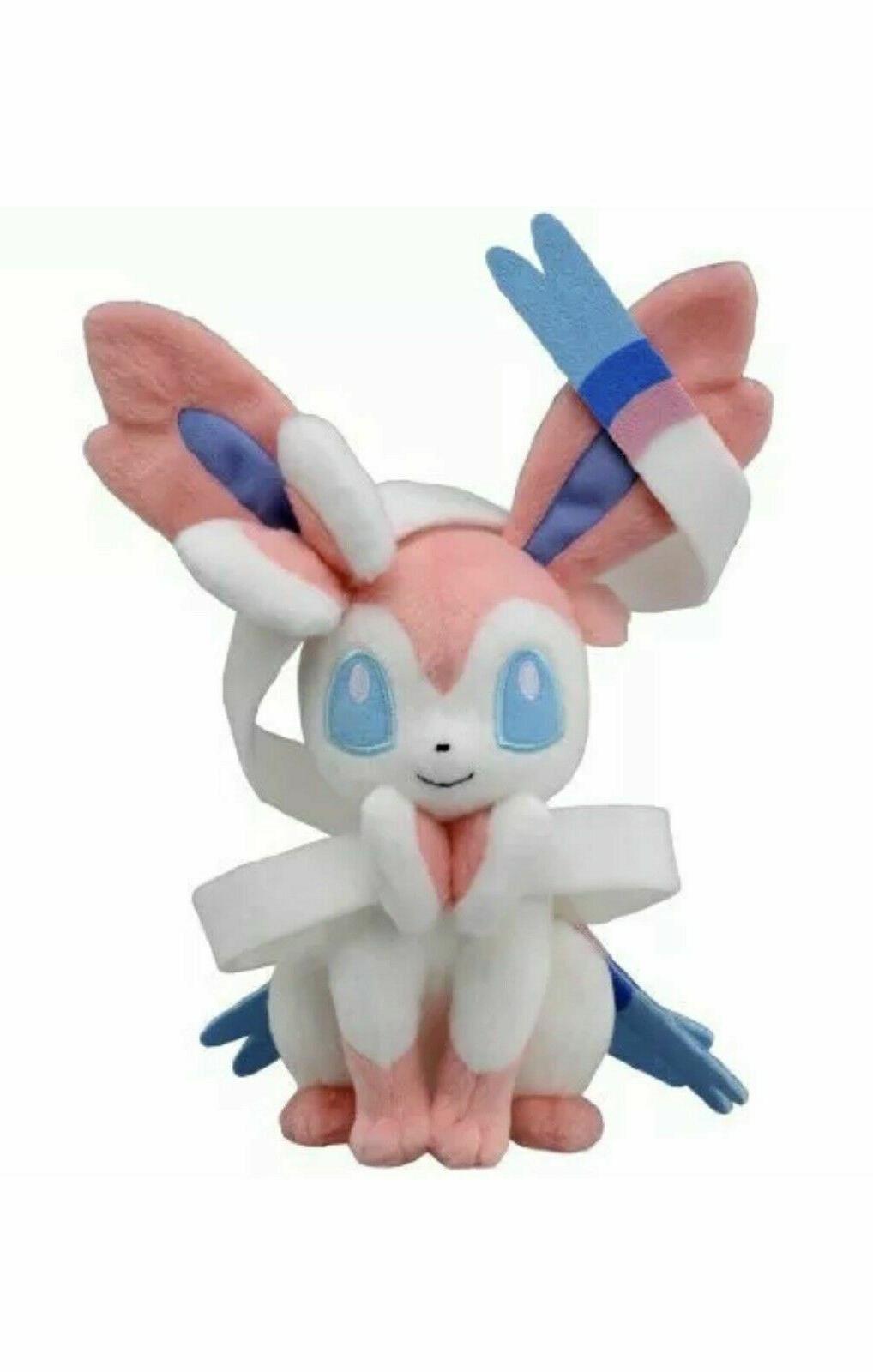 Eevee Sylveon Plush  Stuffed Animal Figure Soft Toy Gift NWT