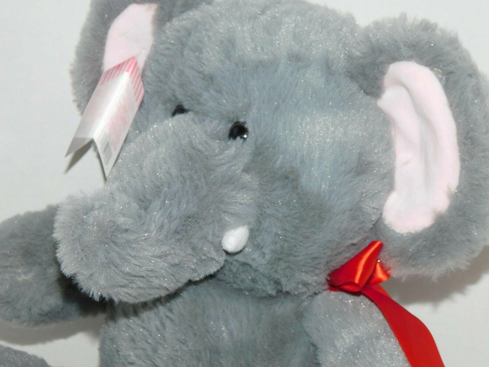 Elephant Plush Stuffed 10.5 Inch Safari