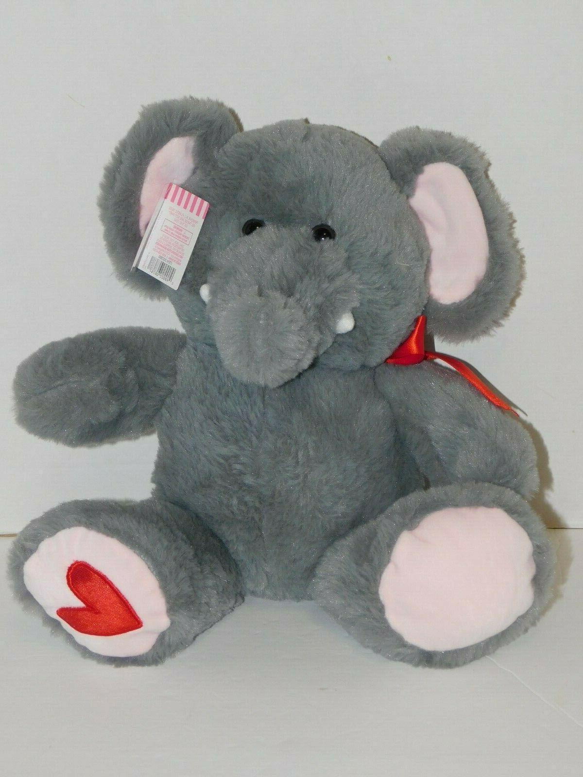 Elephant Plush Stuffed Animal 10.5