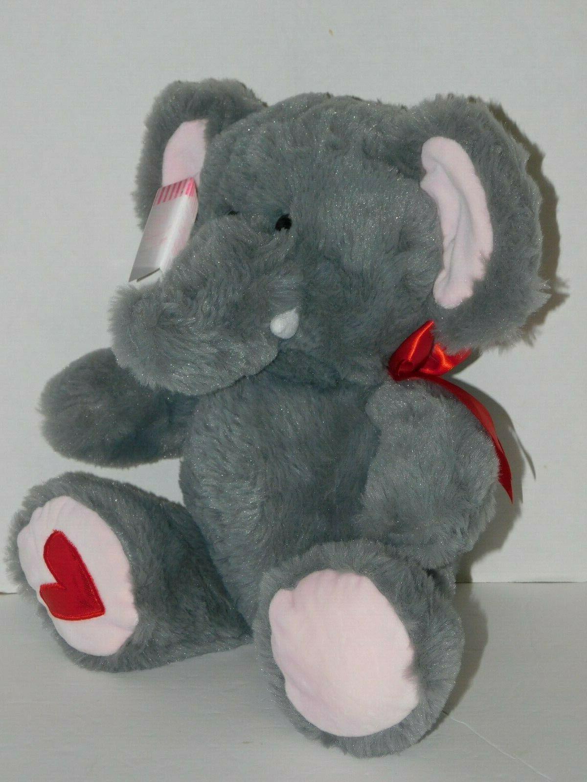 elephant plush stuffed animal 10 5 inch
