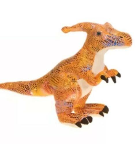 exotic dinosaur plush shiny scale