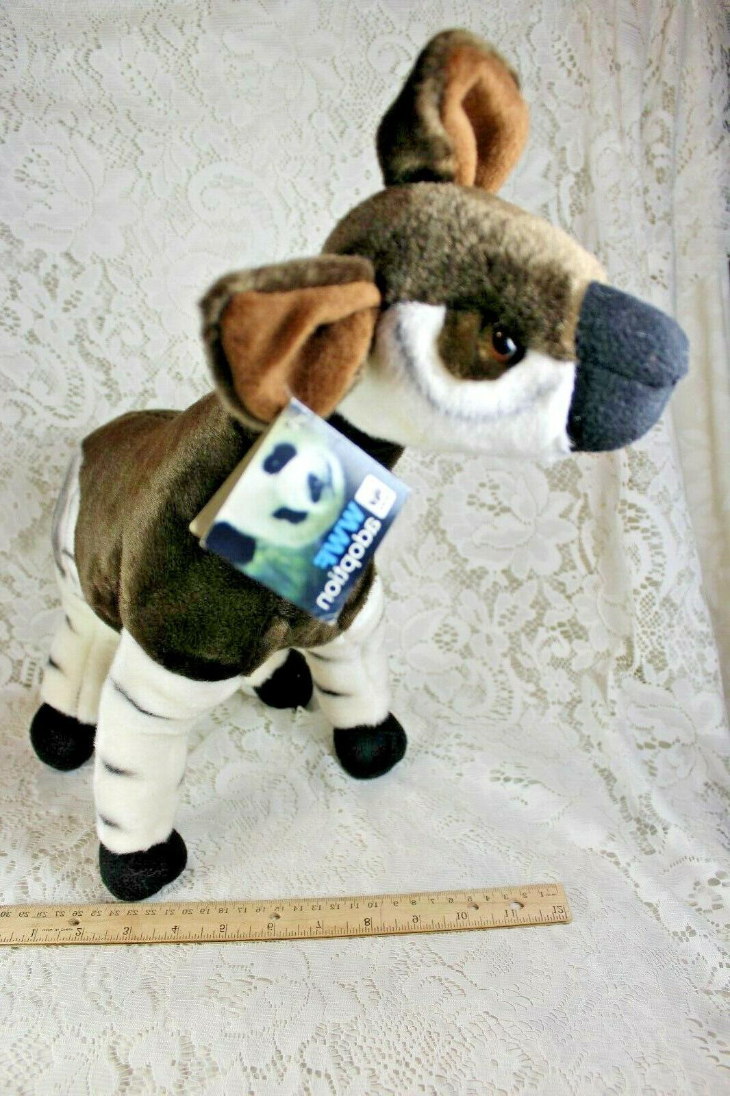 FIESTA OKAPI Animal Toy Poseable NWT
