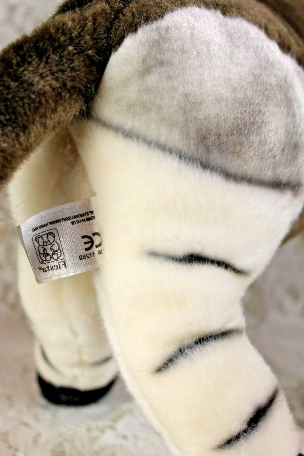 "FIESTA OKAPI Stuffed Animal Toy 16"" Poseable"