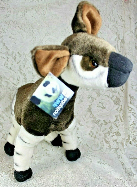 fiesta okapi plush stuffed animal toy toys