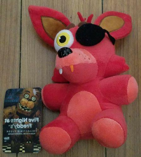 five nights freddy foxy plush