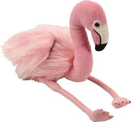 "Wild Republic FLAMINGO 8/"" Plush Cuddlekins Fuzzy Stuffed Animal NEW"