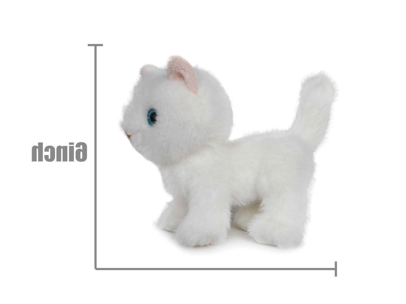 Fluffy Animal Inches(White) - BEAR
