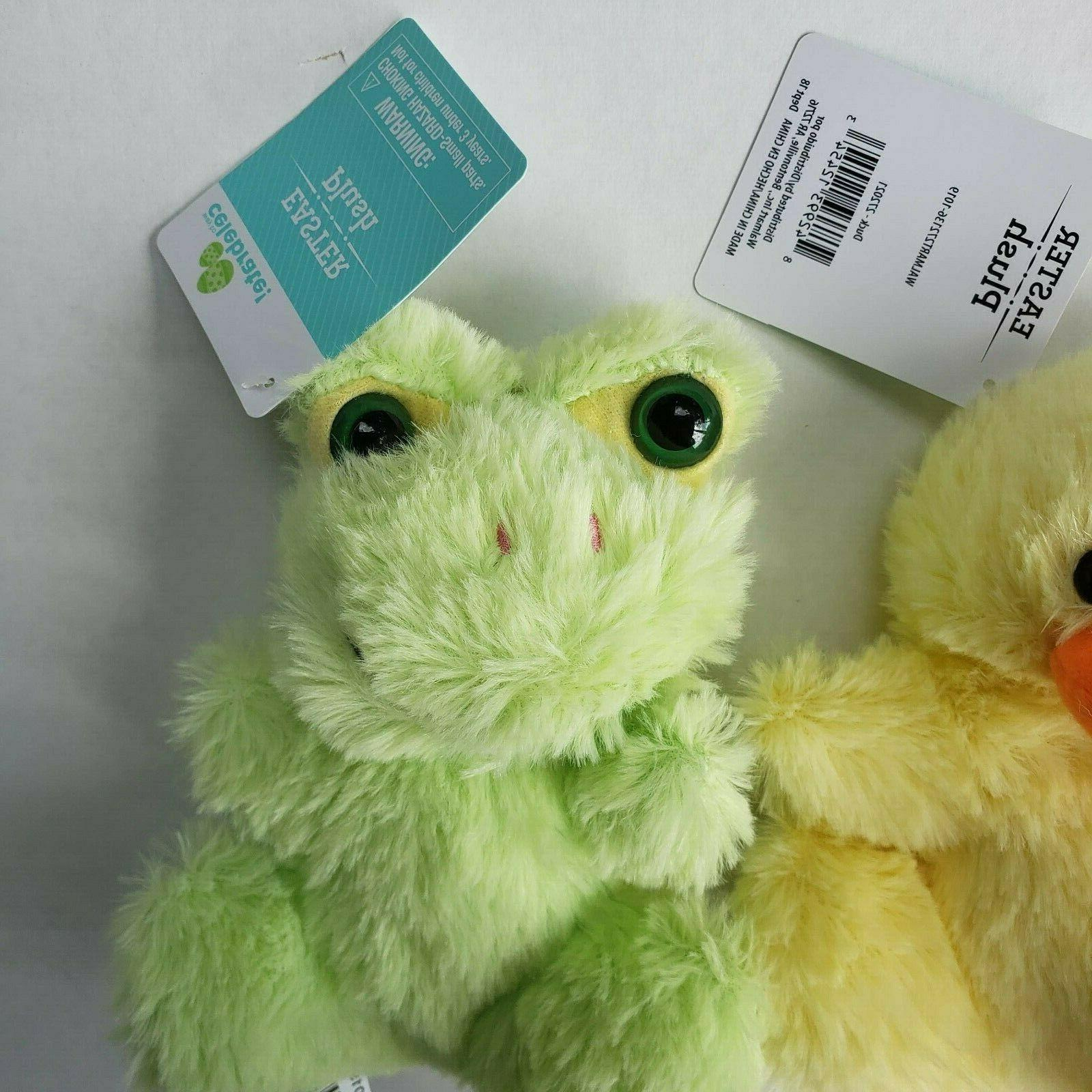 Frog Pig Duck Mini Of 3