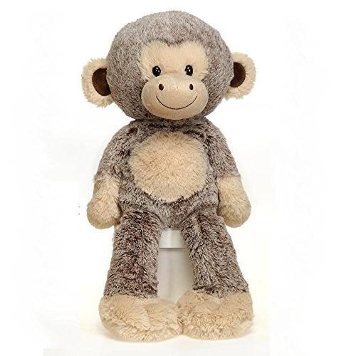 fuzzy folk sitting monkey plush