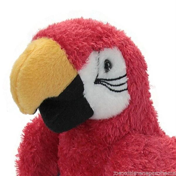 GABBY plush stuffed macaw Cuddle Toy