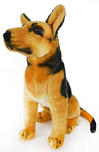VIAHART The Shepherd 16 Large German Animal Plush Dog by Tale Toys