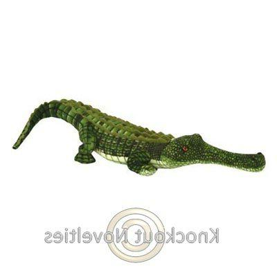 AP Gharial Crocodile Toy Stuffed Animal Plush