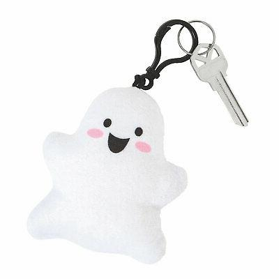 ghost plush backpack clip keychains apparel accessories