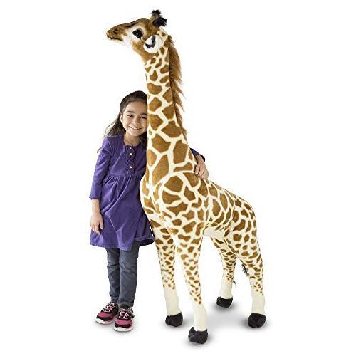 "Melissa & Giant Giraffe, Playspaces & Decor, Soft Fabric, Over Feet x 21.2"" W 10.5"" L"