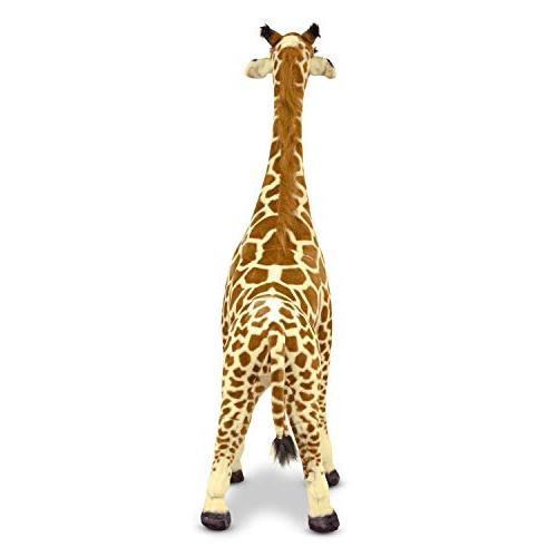 "Melissa Doug Giraffe, & Decor, Lifelike Soft Feet Tall, x 10.5"""