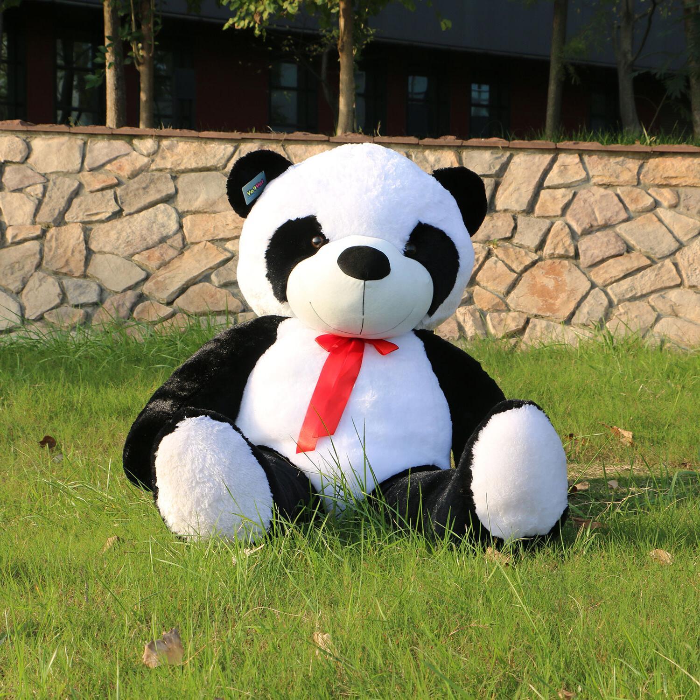 "Joyfay Giant 47"" Giant Panda Bear Stuffed Plush Toy Christma"