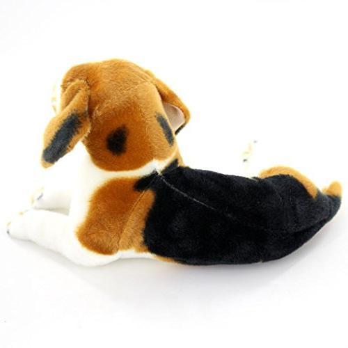 "Jesonn Realistic Animals Beagle Toys,17.7"" 45CM,1PC"