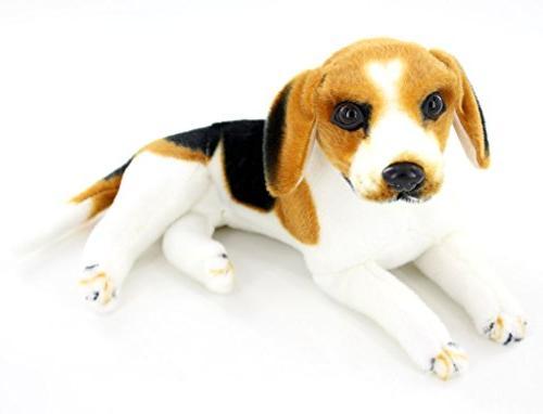 "Jesonn Realistic Animals Dog Toys,17.7"""