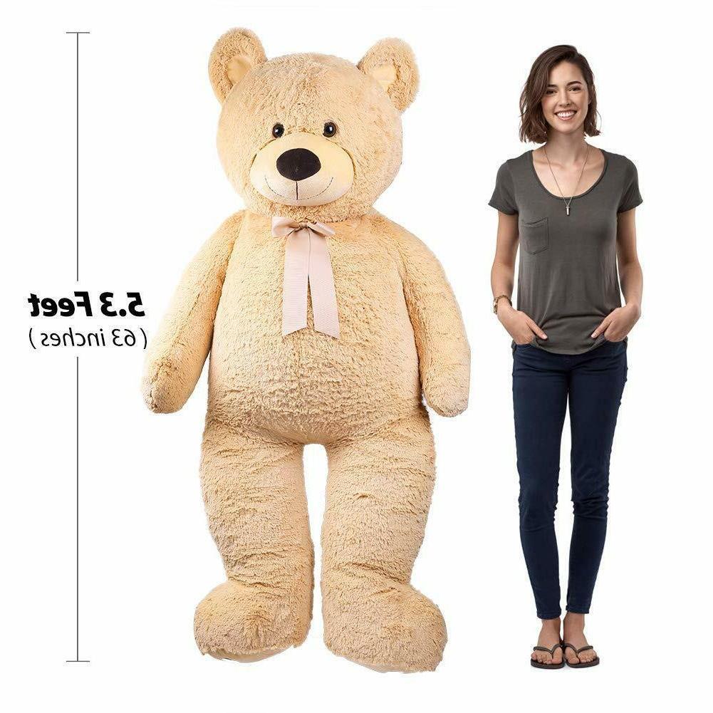 giant teddy bear 63 plush stuffed animal