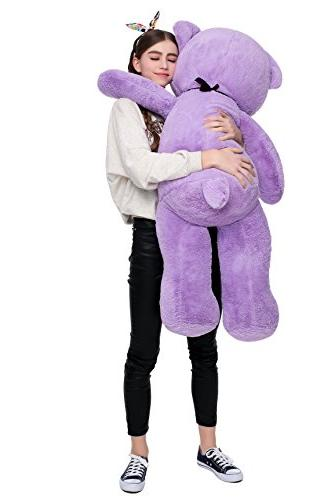 Misscindy Giant Teddy Plush Stuffed Animals for Girlfriend inch,