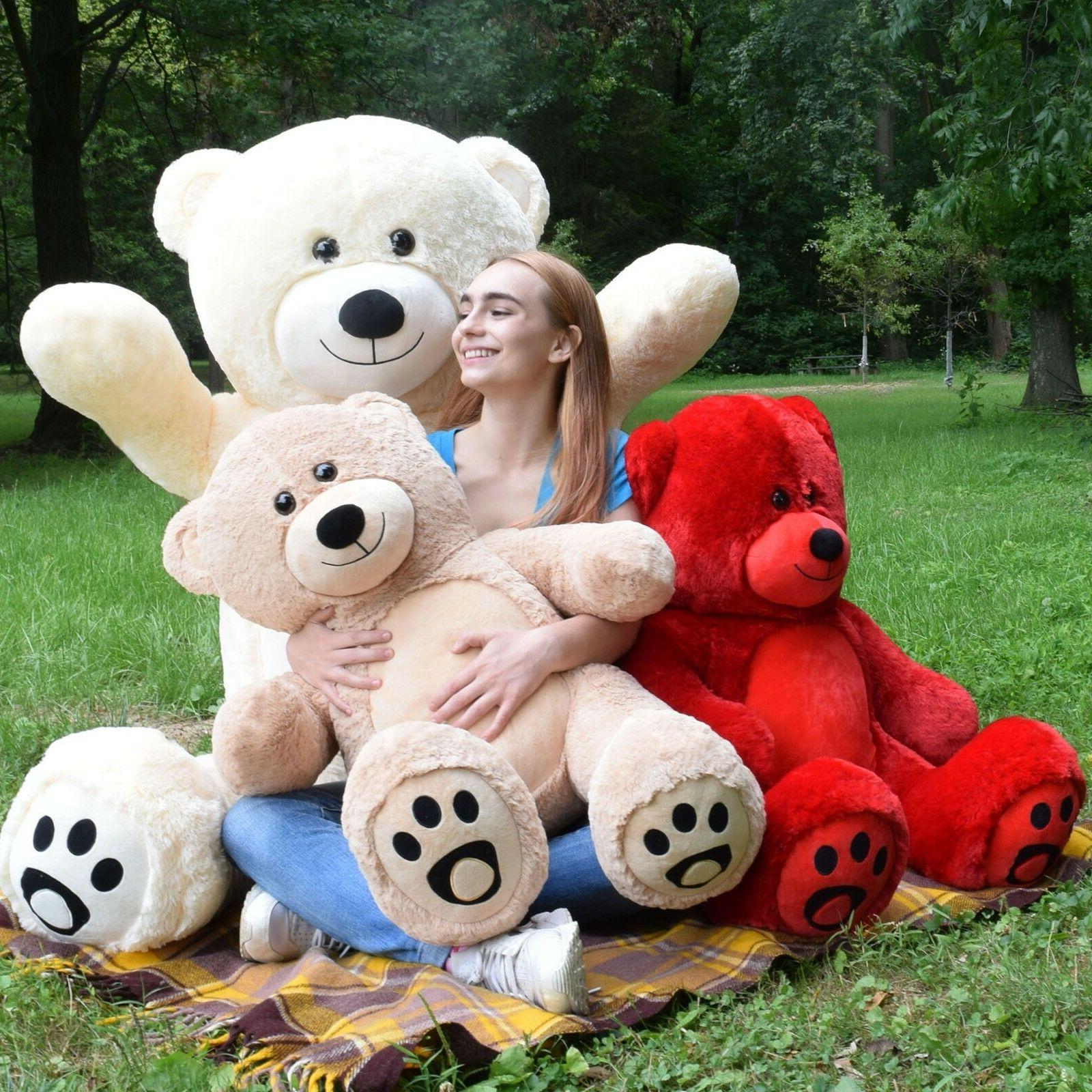 Giant Teddy Bear Stuffed Animal Birthday Valentine